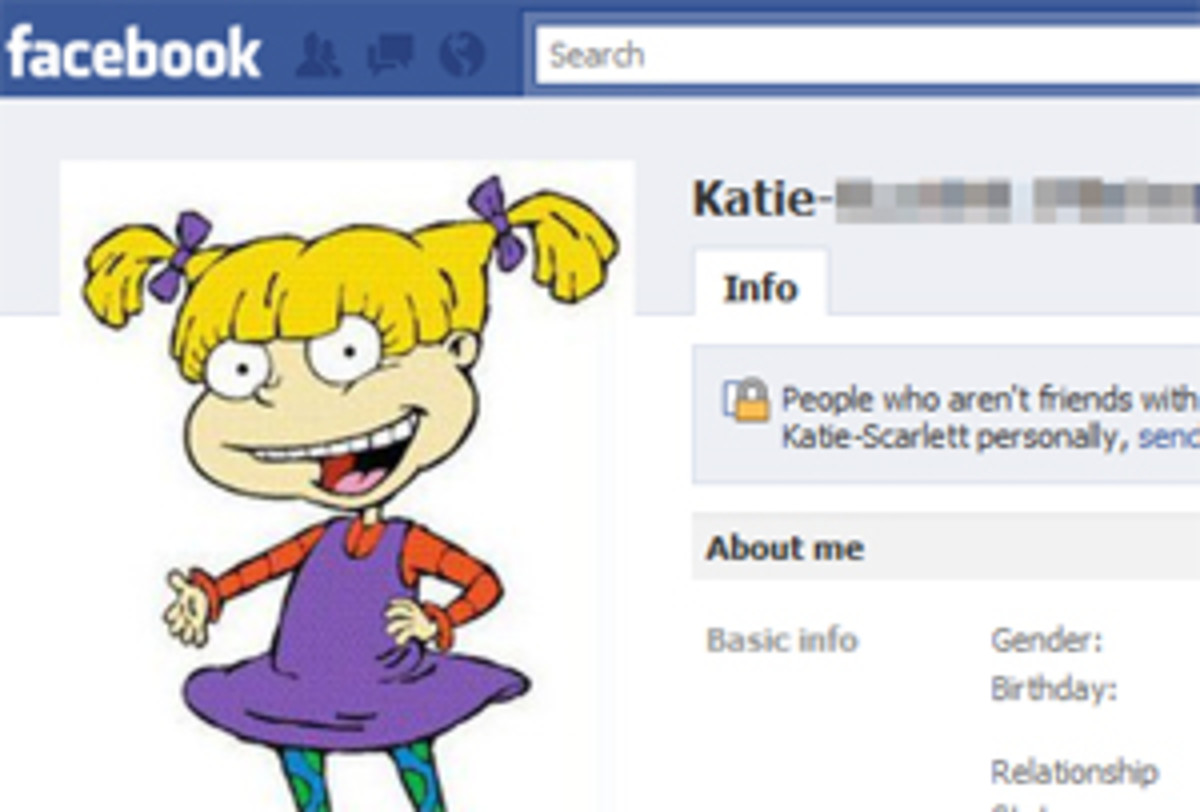 Hmm.. coulda sworn her name was Angelica, not Katie..