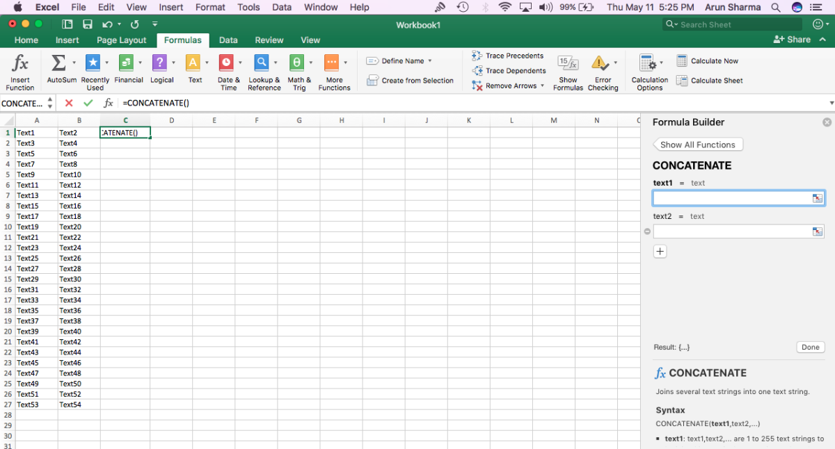 Tutorial on How to Concatenate in Excel | TurboFuture