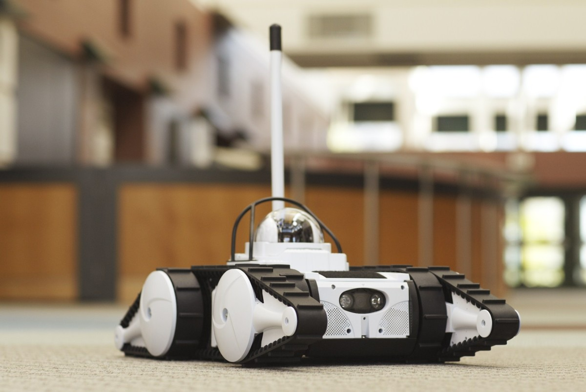 The Avatar III Security Robot can be used by both homeowners and businesses to keep an eye on properties.