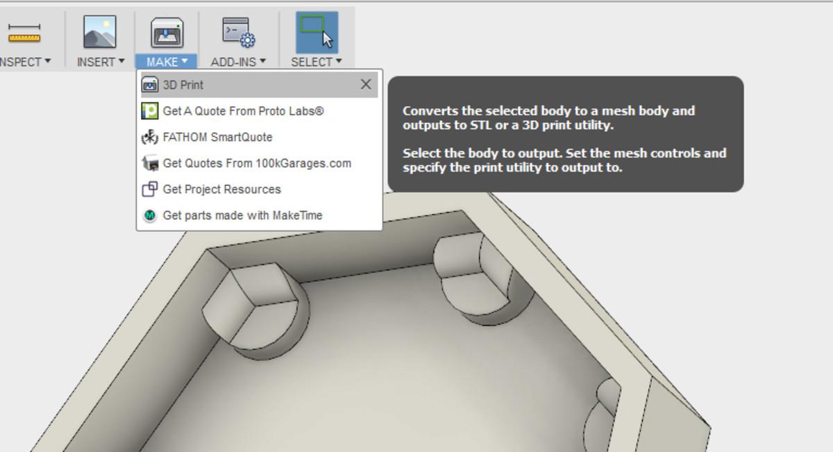 Make / 3D Print.