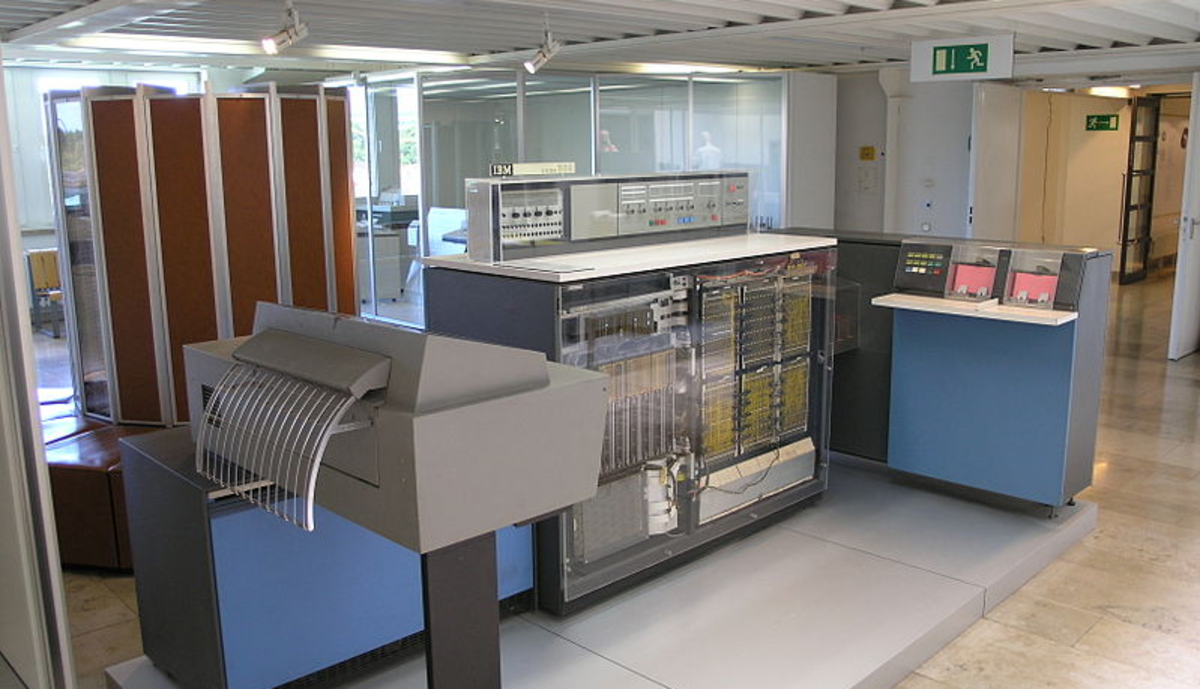 IBM 360 Mainframe in the German Museum