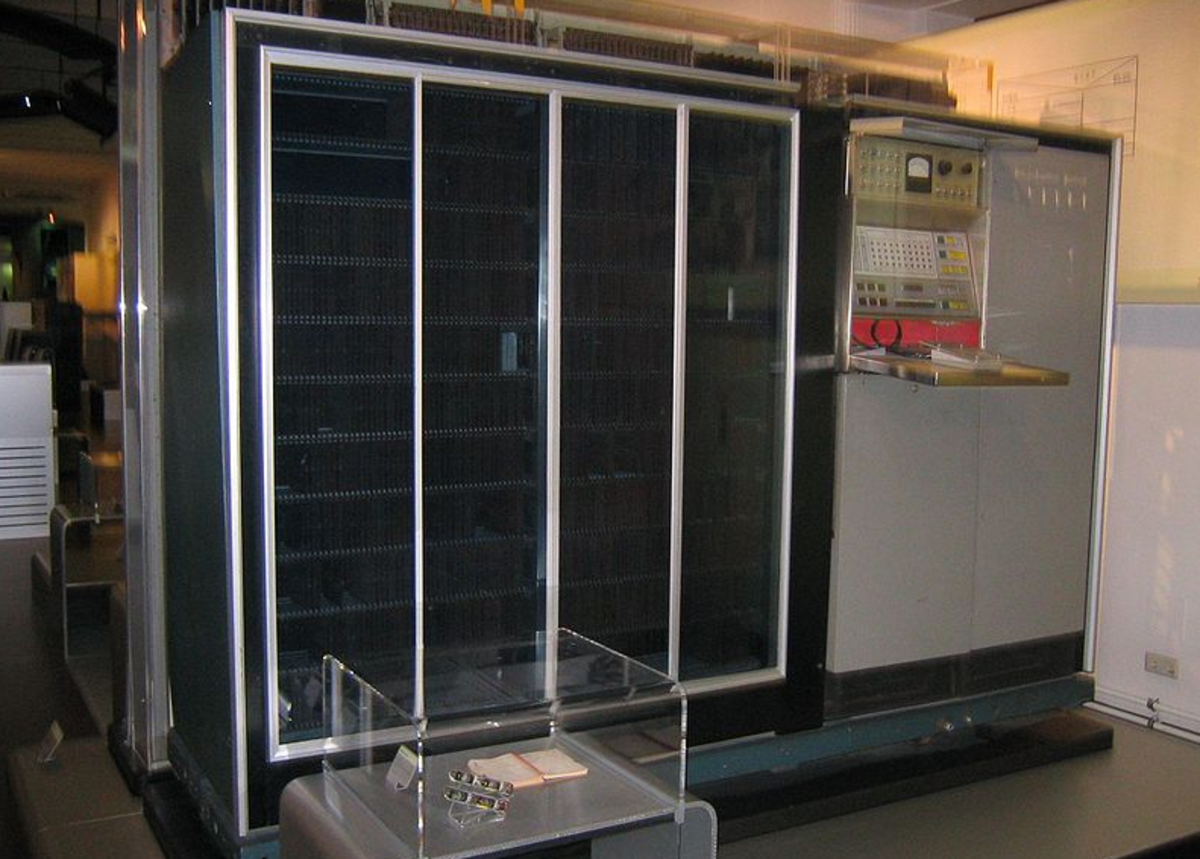 UNIVAC as exhibited in the Vienna Technical Museum