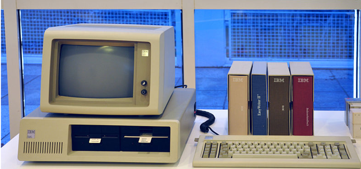 The original IBM PC in 1981