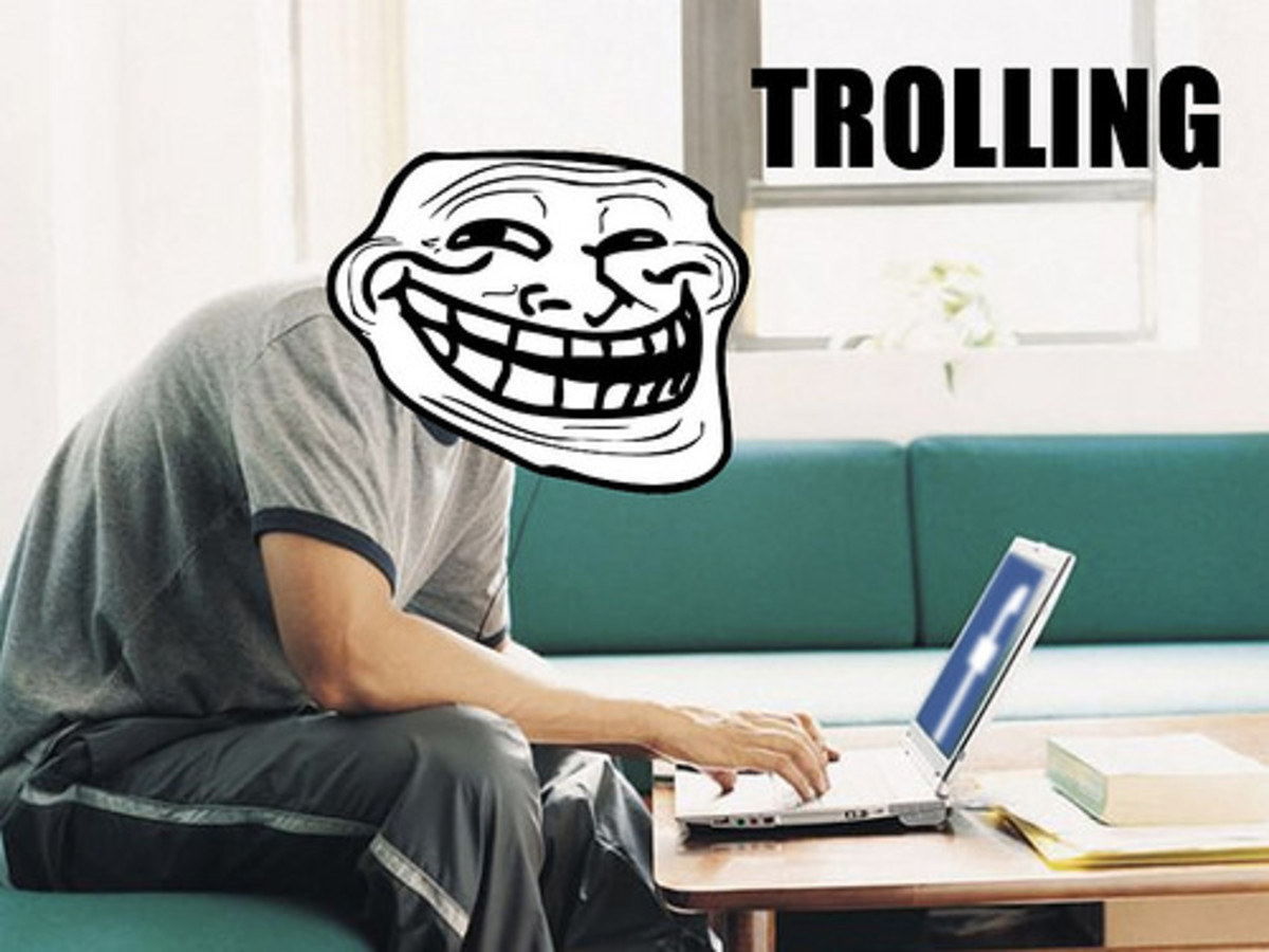 Trolls get enjoyment from harassing folks anonymously online.