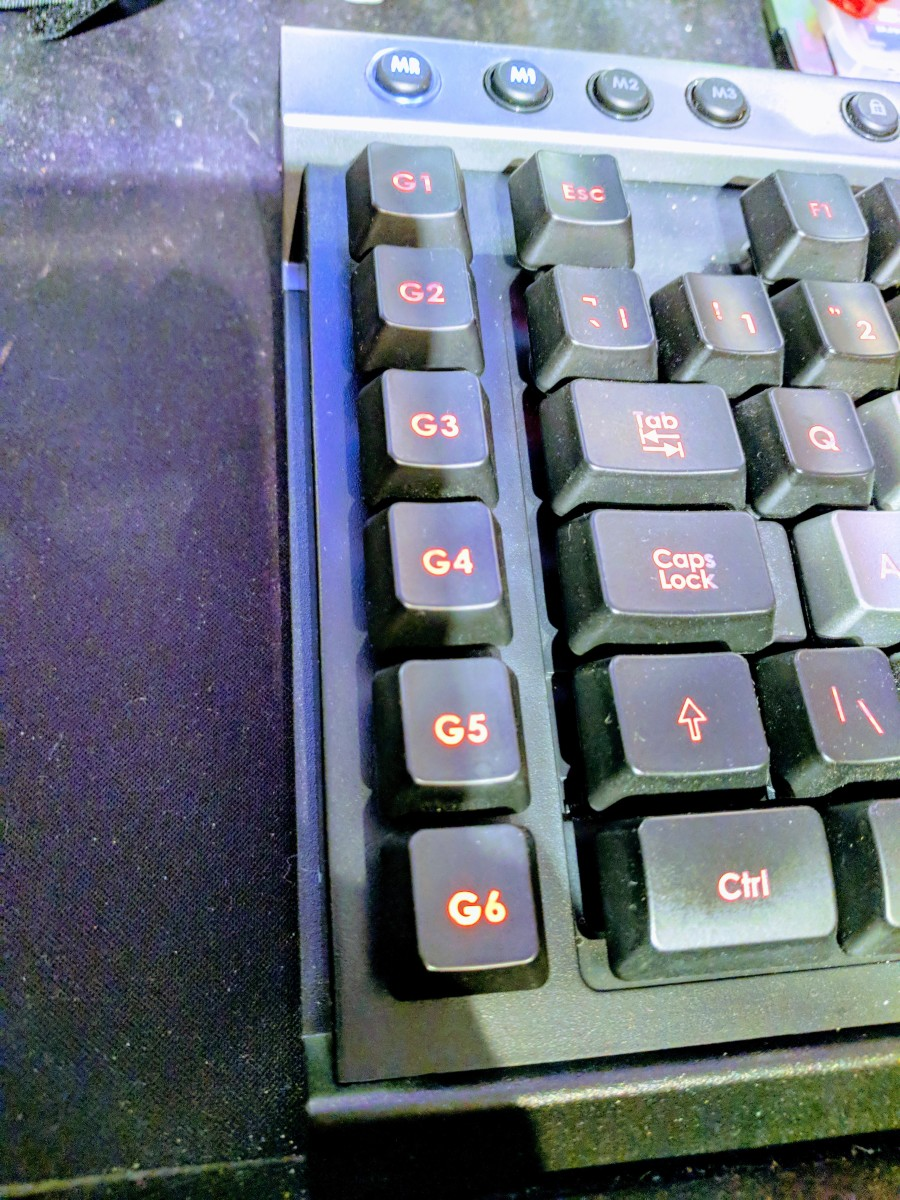 Programmable function keys can be especially useful for specialist software, as well as gaming.