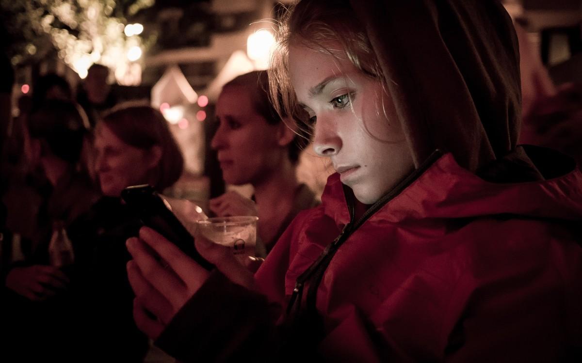 Children on Mobile