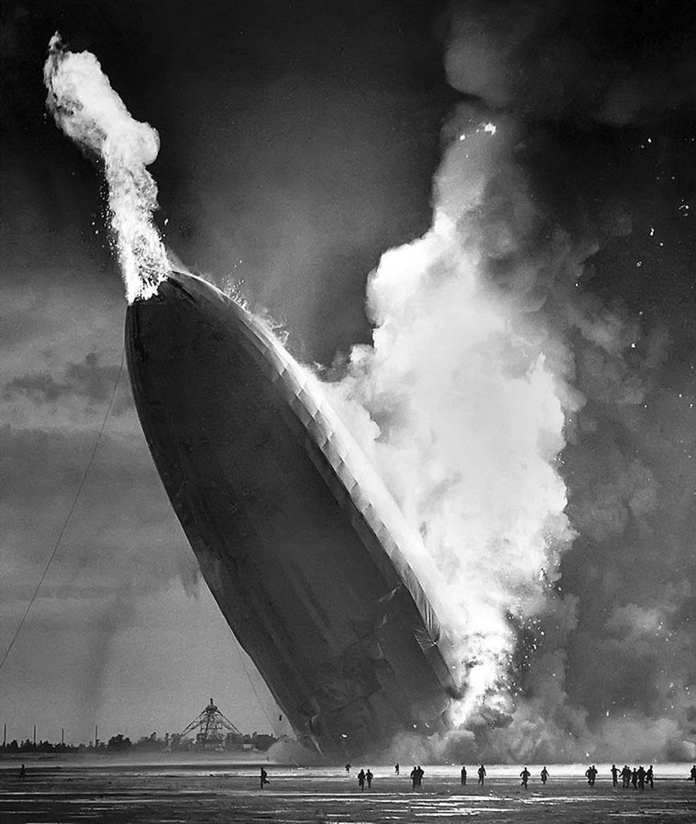 The Hindenburg accident probably set back hydrogen research by several decades.