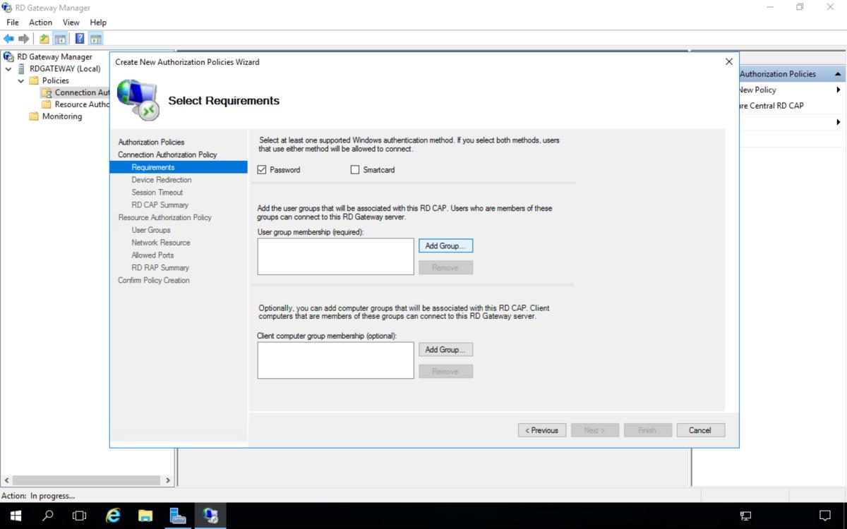 How to Setup a Remote Desktop Gateway Windows Server 2016