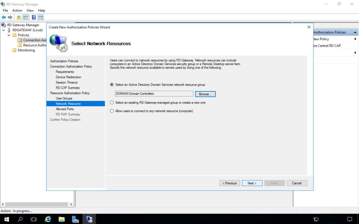 How to Setup a Remote Desktop Gateway Windows Server 2016 | TurboFuture