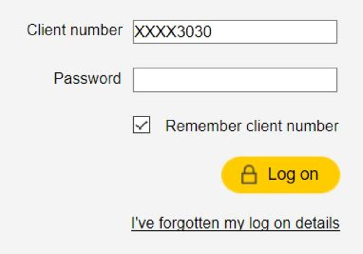 What do you do if you don't know the password?
