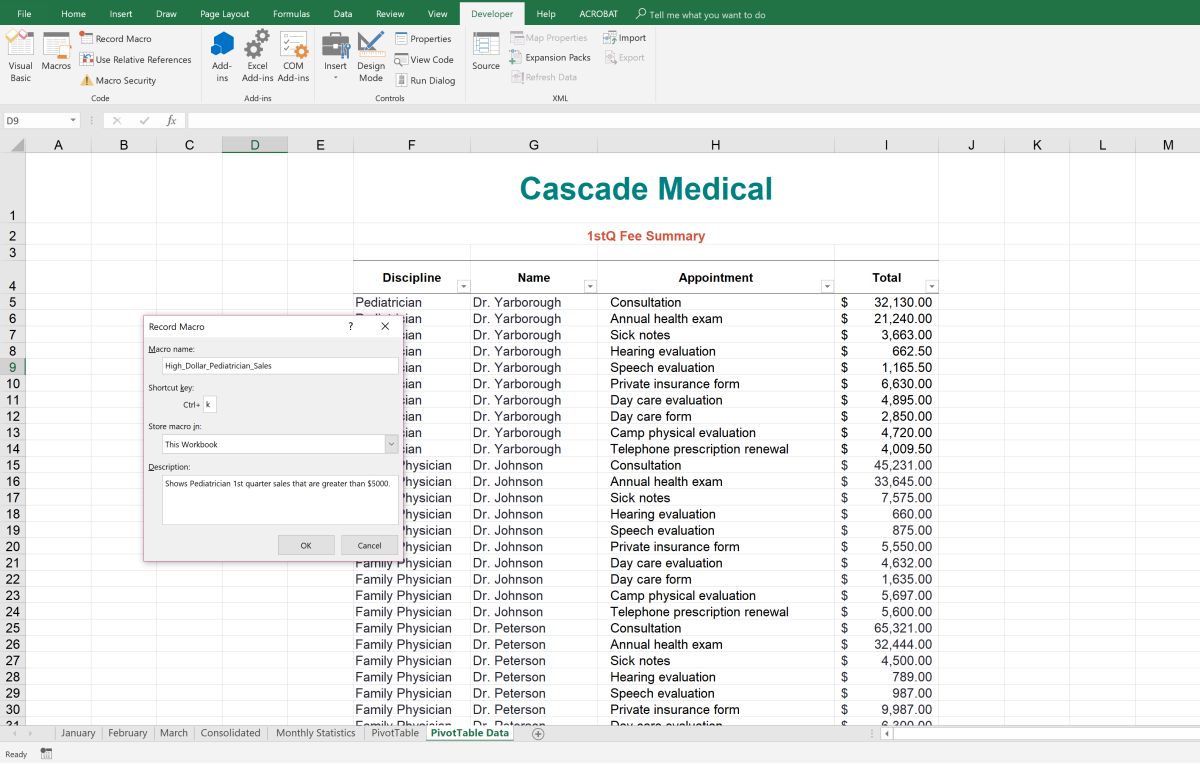 Create Shortcut Keys for Repetitive Tasks in Microsoft Excel