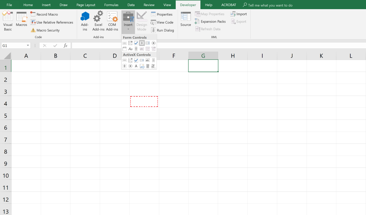 How to Create a Spin Button in Microsoft Excel | TurboFuture