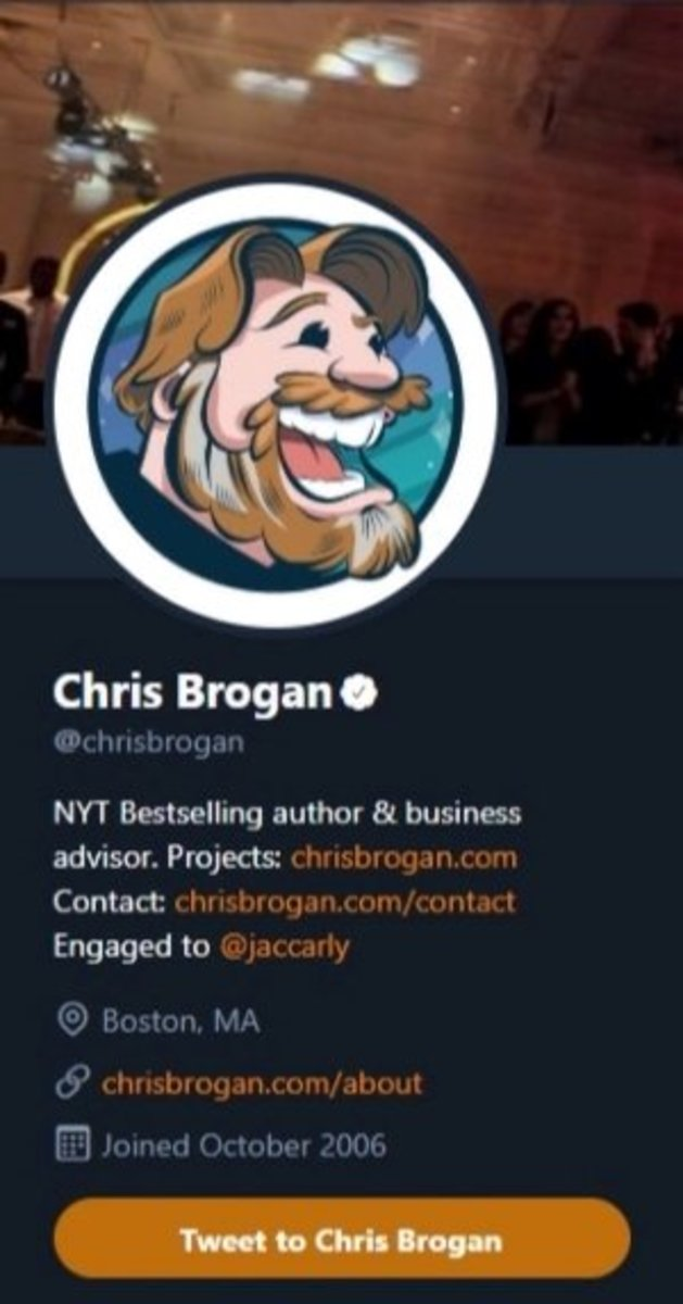 """Adding """"bestselling author"""" to your Twitter is always a good idea."""