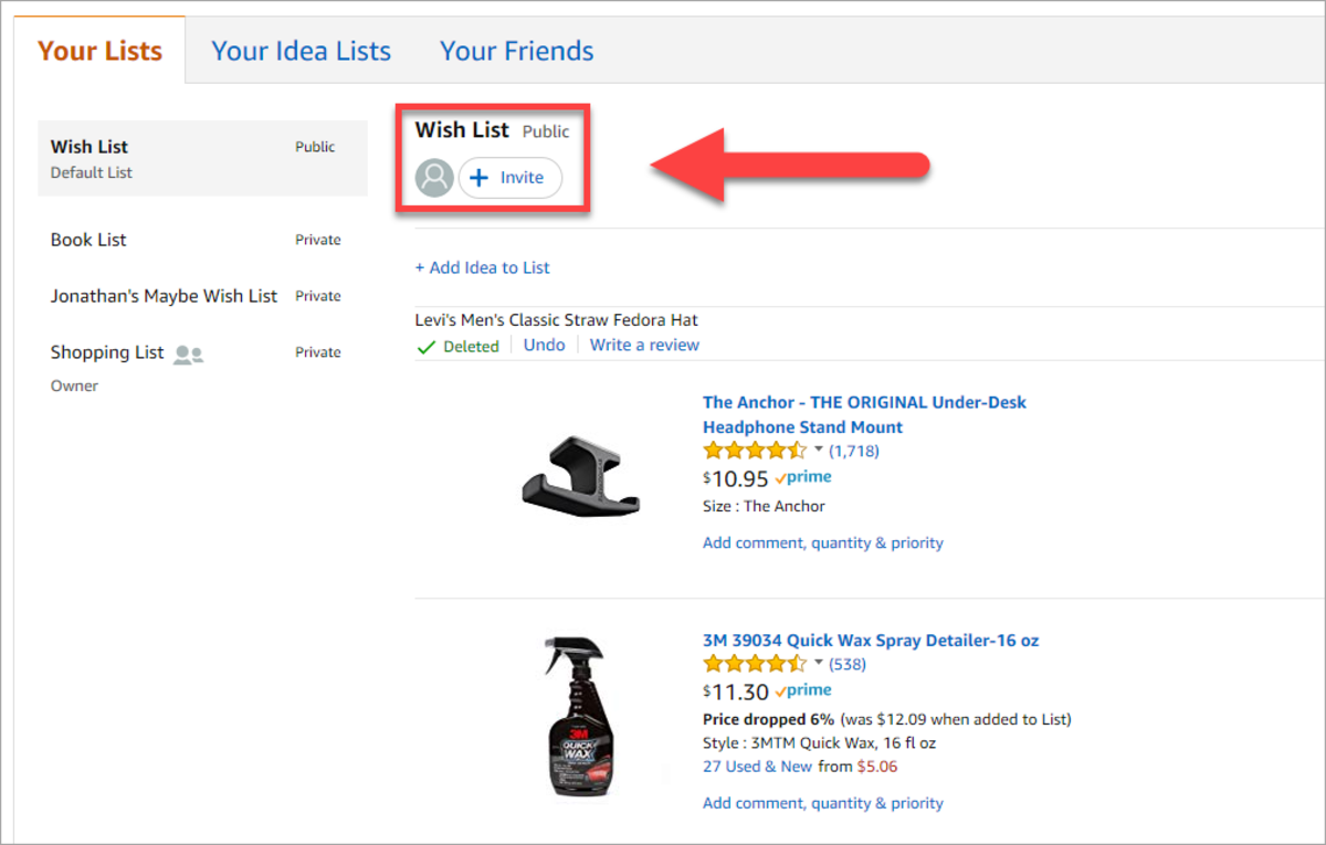How to Create, Share & Collaborate on Amazon Lists | TurboFuture