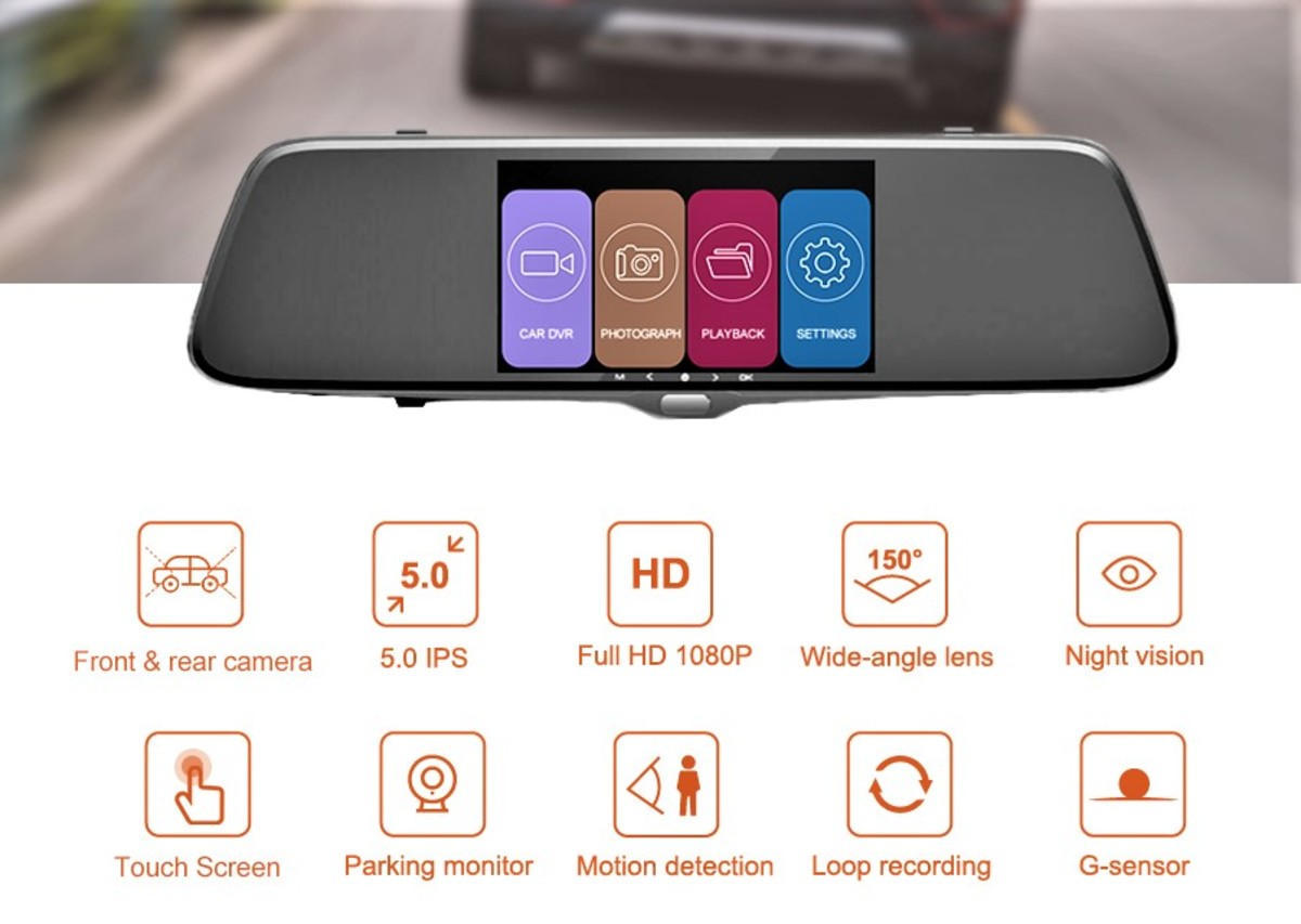 Review Of Autowit Backup Camera With 5 Quot Mirror Dash Cam