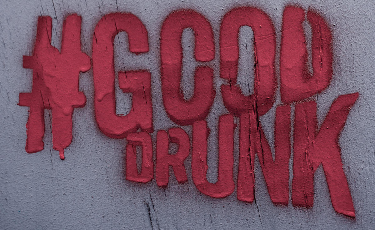 Do: Look for fresh hashtags. This is #GoodDrunk from Dublin.