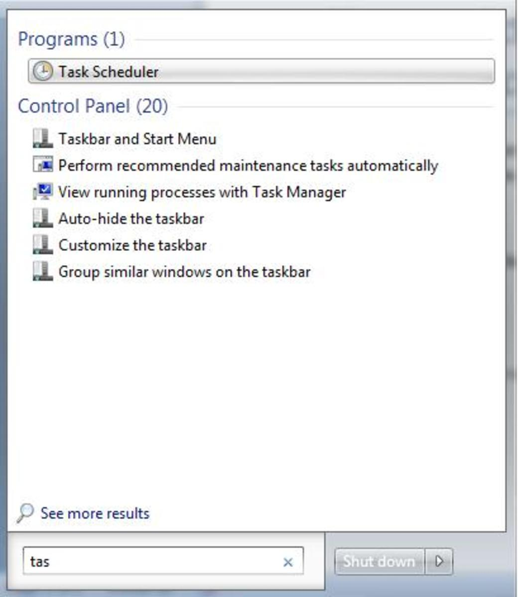Select Create Basic Task from the Actions pane on the right of the window.