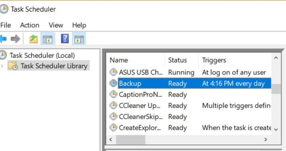 Then double click on the Task you just created, click on Run with Highest privilege then click OK.