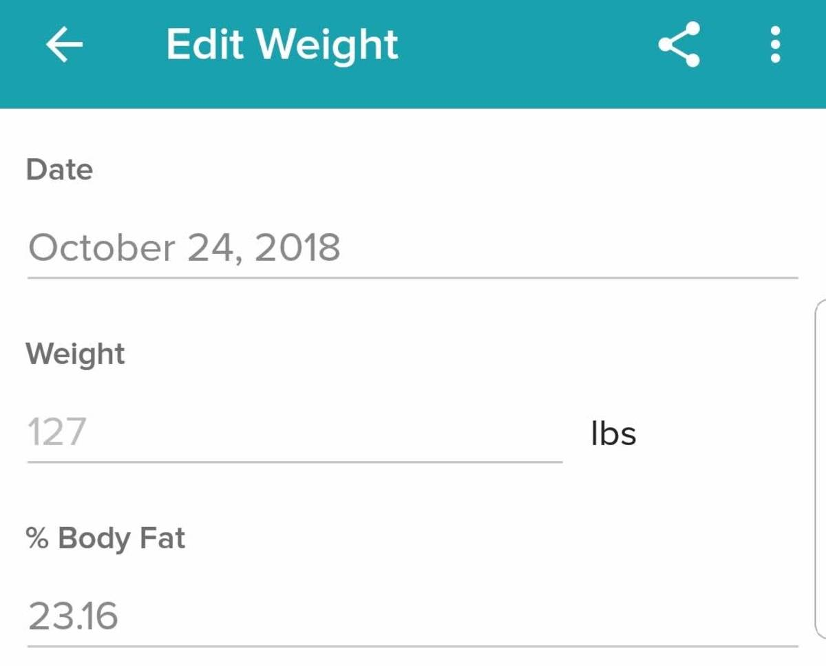Though measurements automatically sync, you can edit them—at least the weight part. There is, however, no explanation about your body fat percentage (whereas the PICOOC MINI provides some explanatory text on each feature).