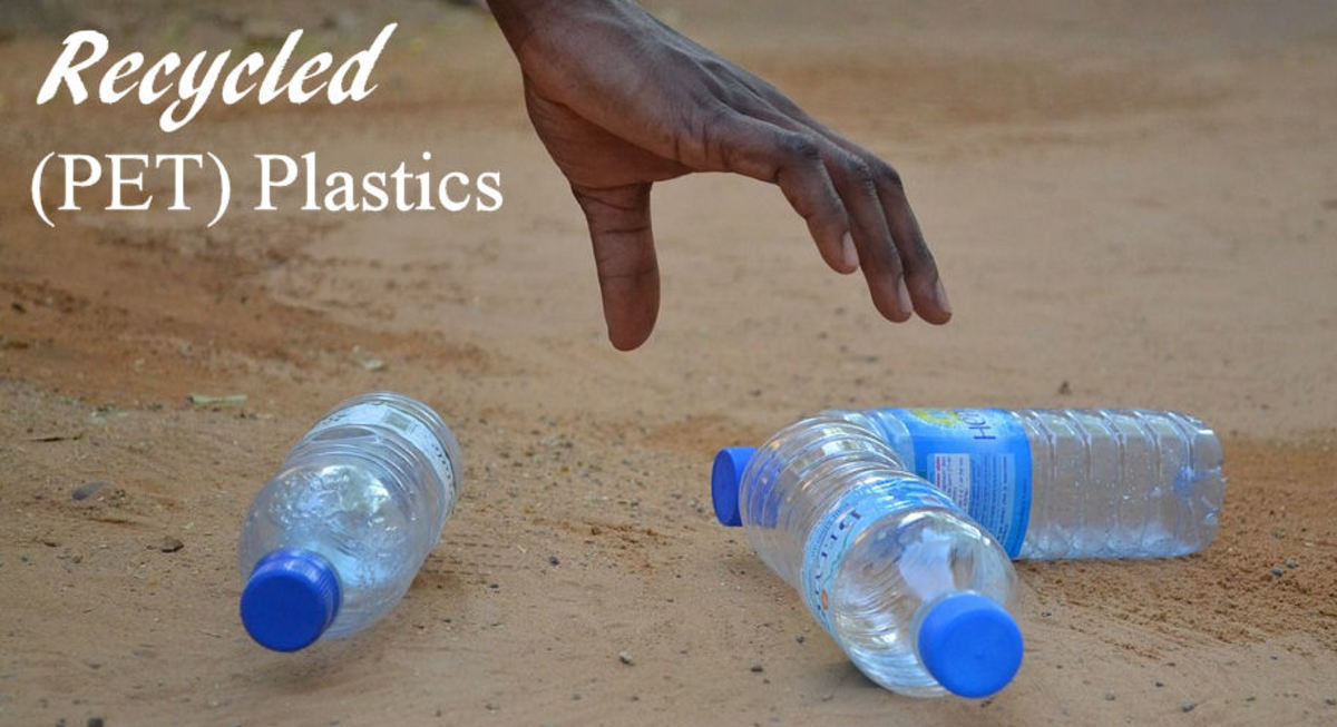 Recycled PET Plastic Bottles