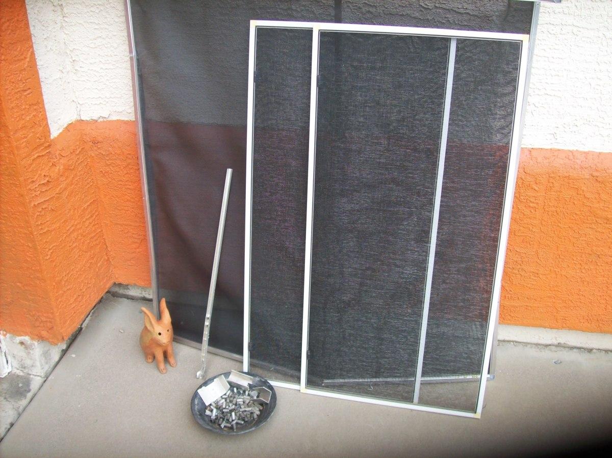 Aluminum screen frame, aluminum picture frames, and aluminum wire track.
