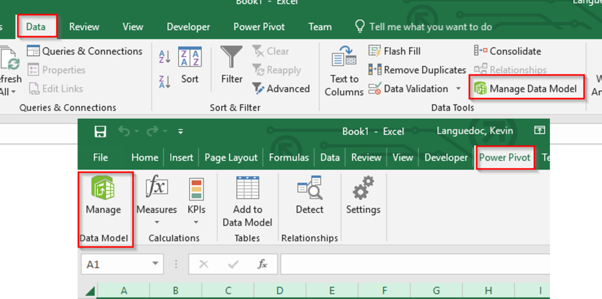 Power Pivot Editor