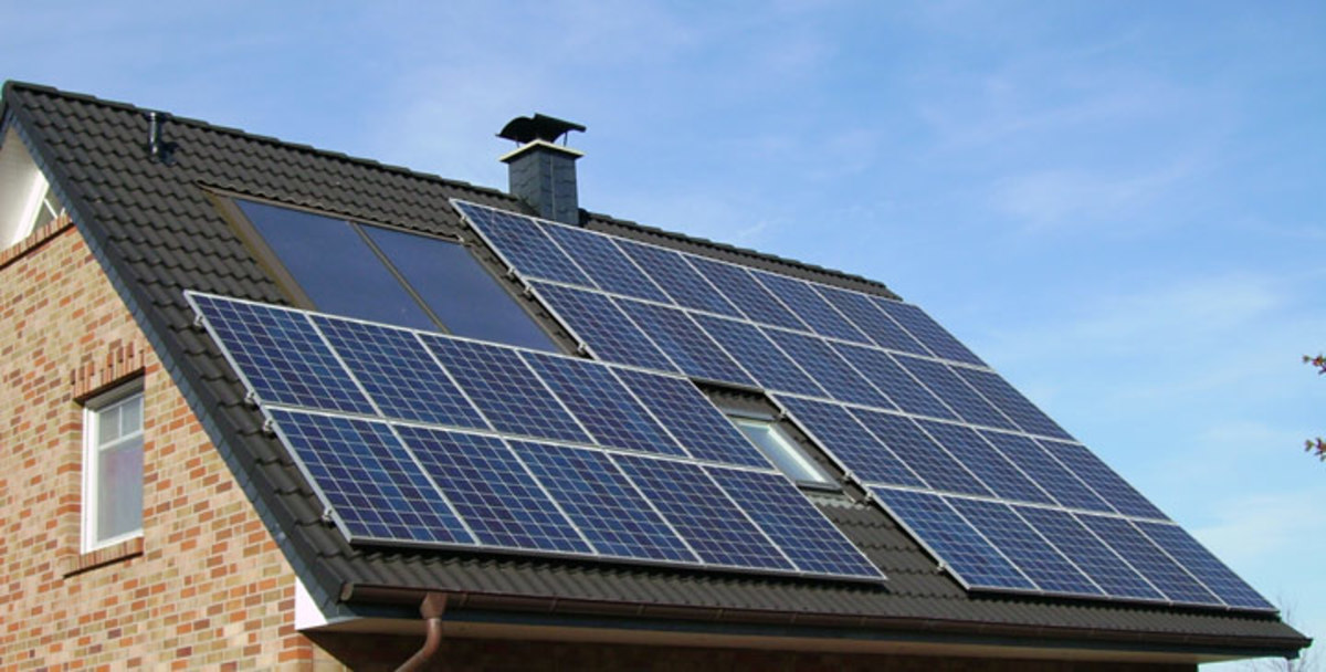 An average roof that works well with solar