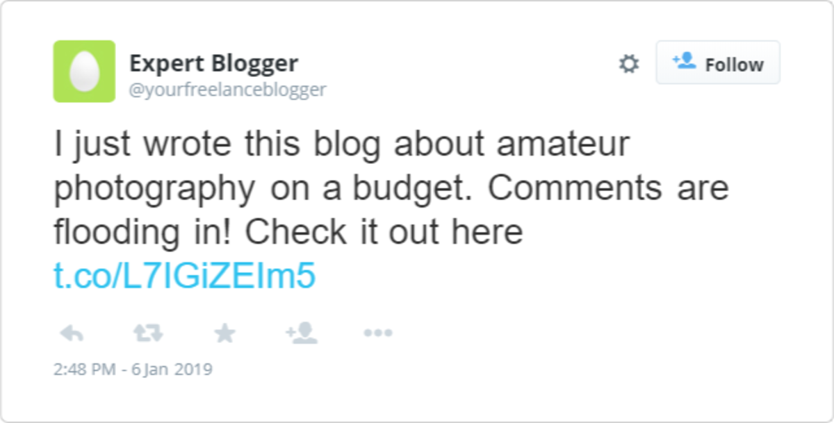 "Bloggers often misuse the term ""blog"" on Twitter. Maybe intentionally?"