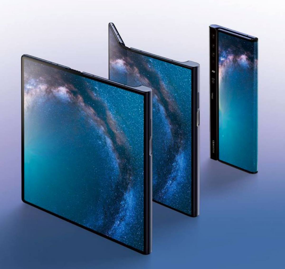 Priced at about 2,600 USD, the Huawei Mate X is a multitasking hybrid device with outstanding performance.