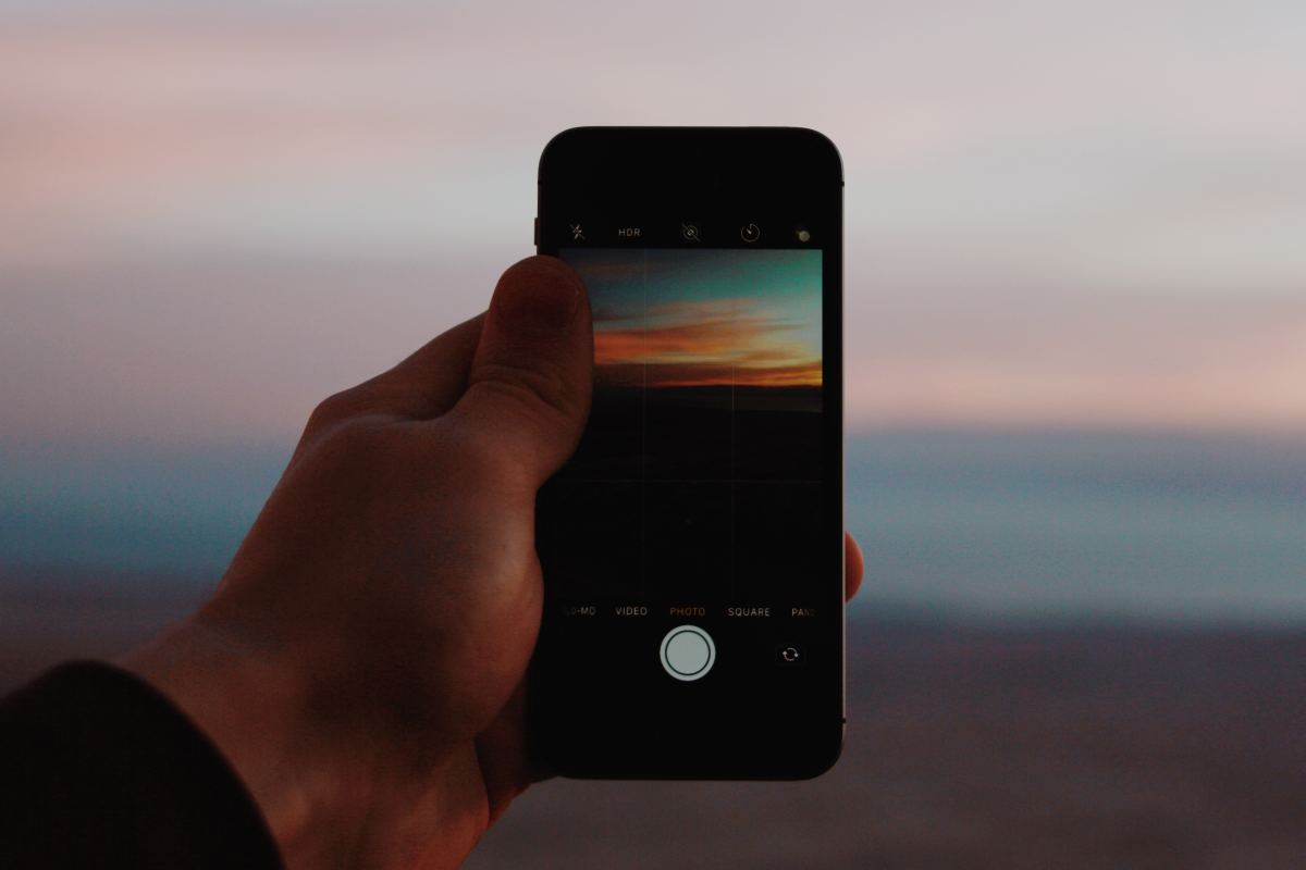 For artistic exposures like sunsets, try AE/AF LOCK