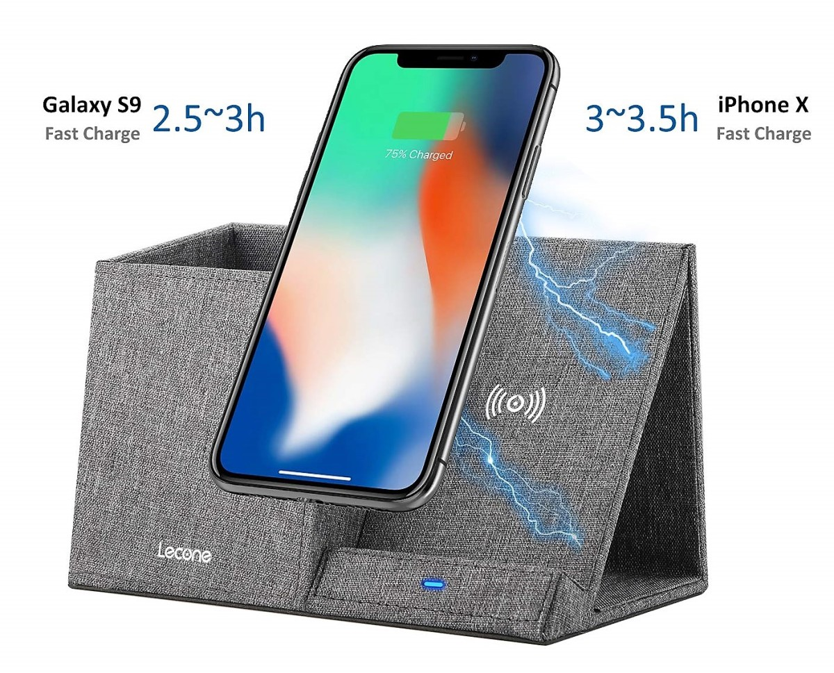 product-review-lecone-wireless-charger-with-desk-organizer