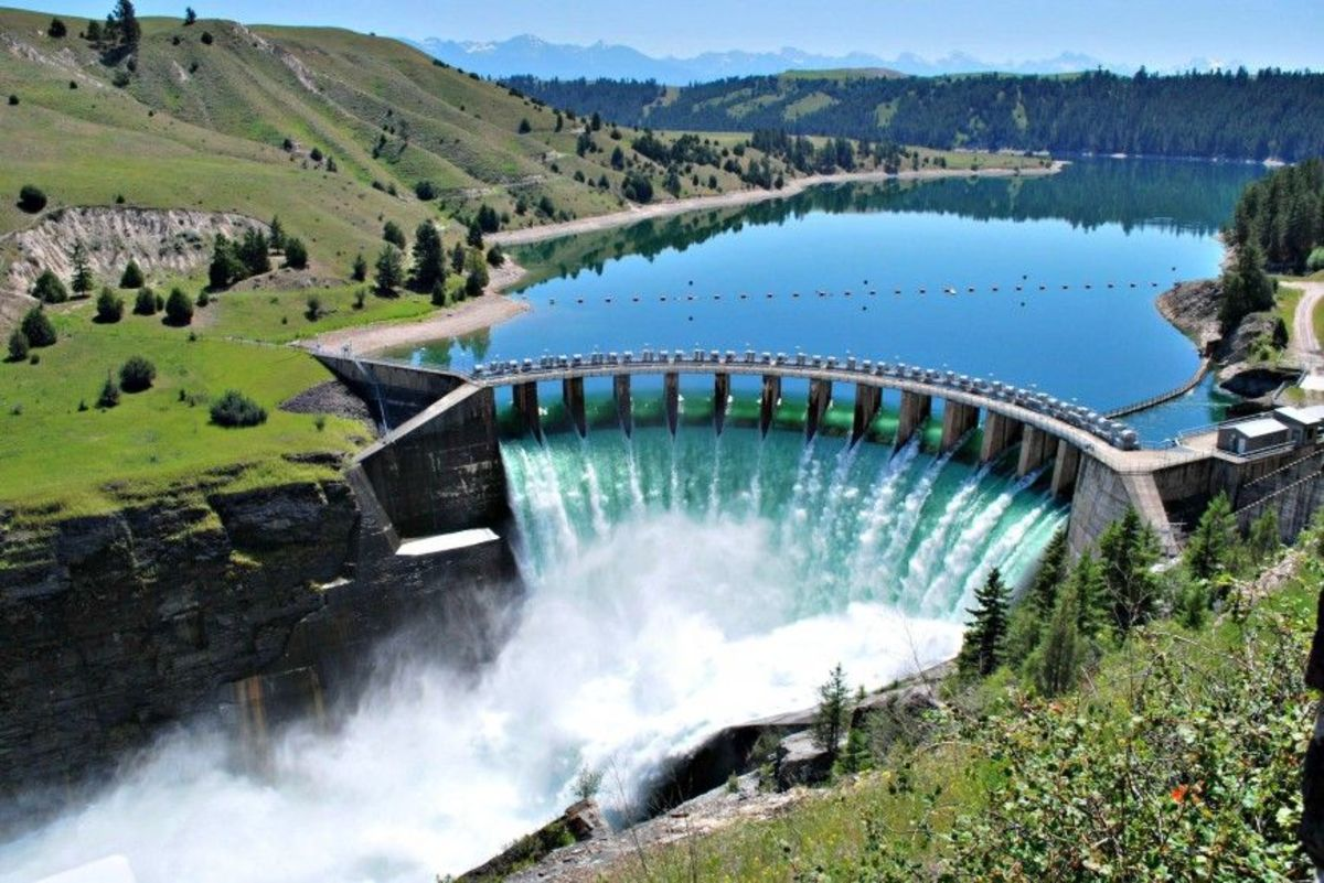 Hydro-power is the most widely used source of renewable energy generated electricity.