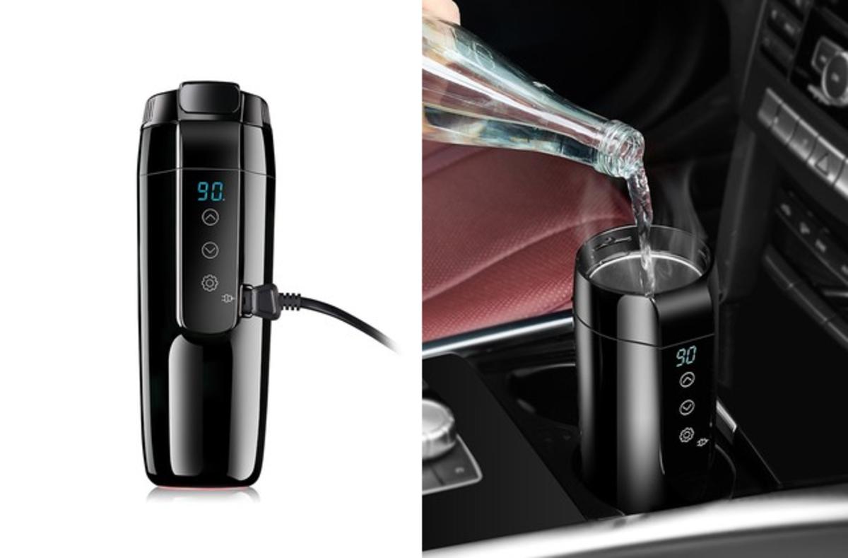 12v kettle for your car's cupholder