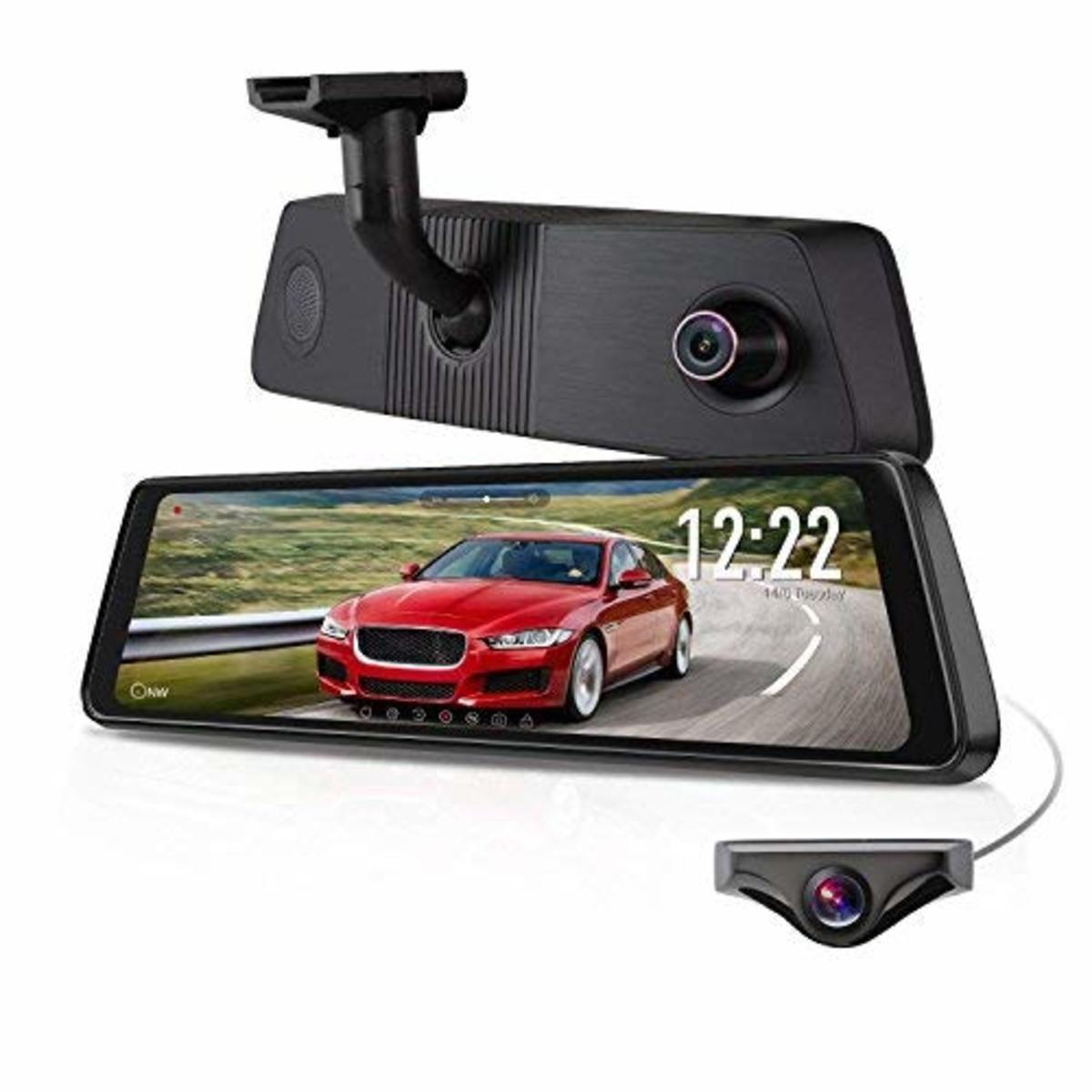 AUTO-VOX X1PRO Rear View Mirror and Dash Cam