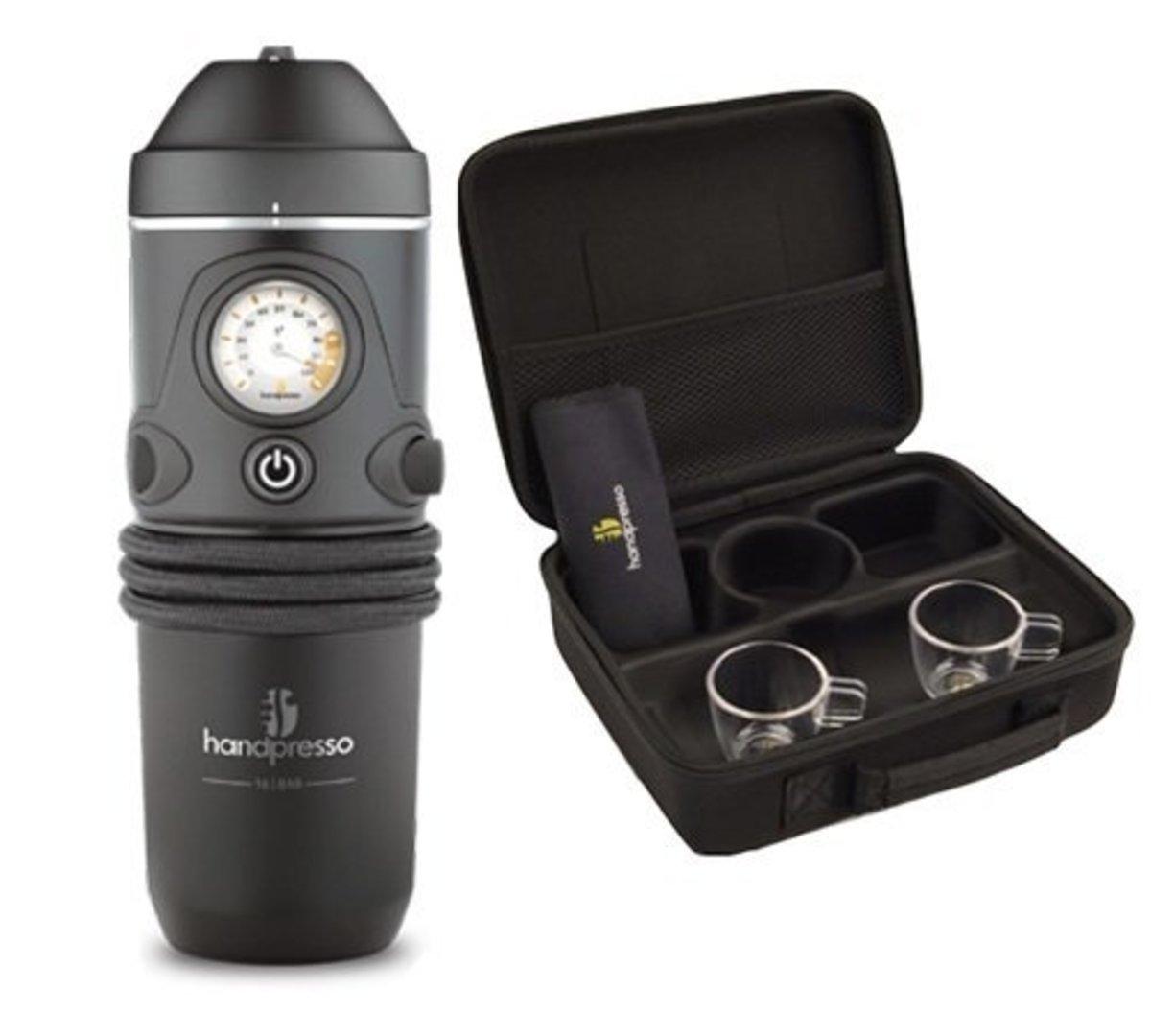 Handpresso Auto: 12v coffee maker for the car