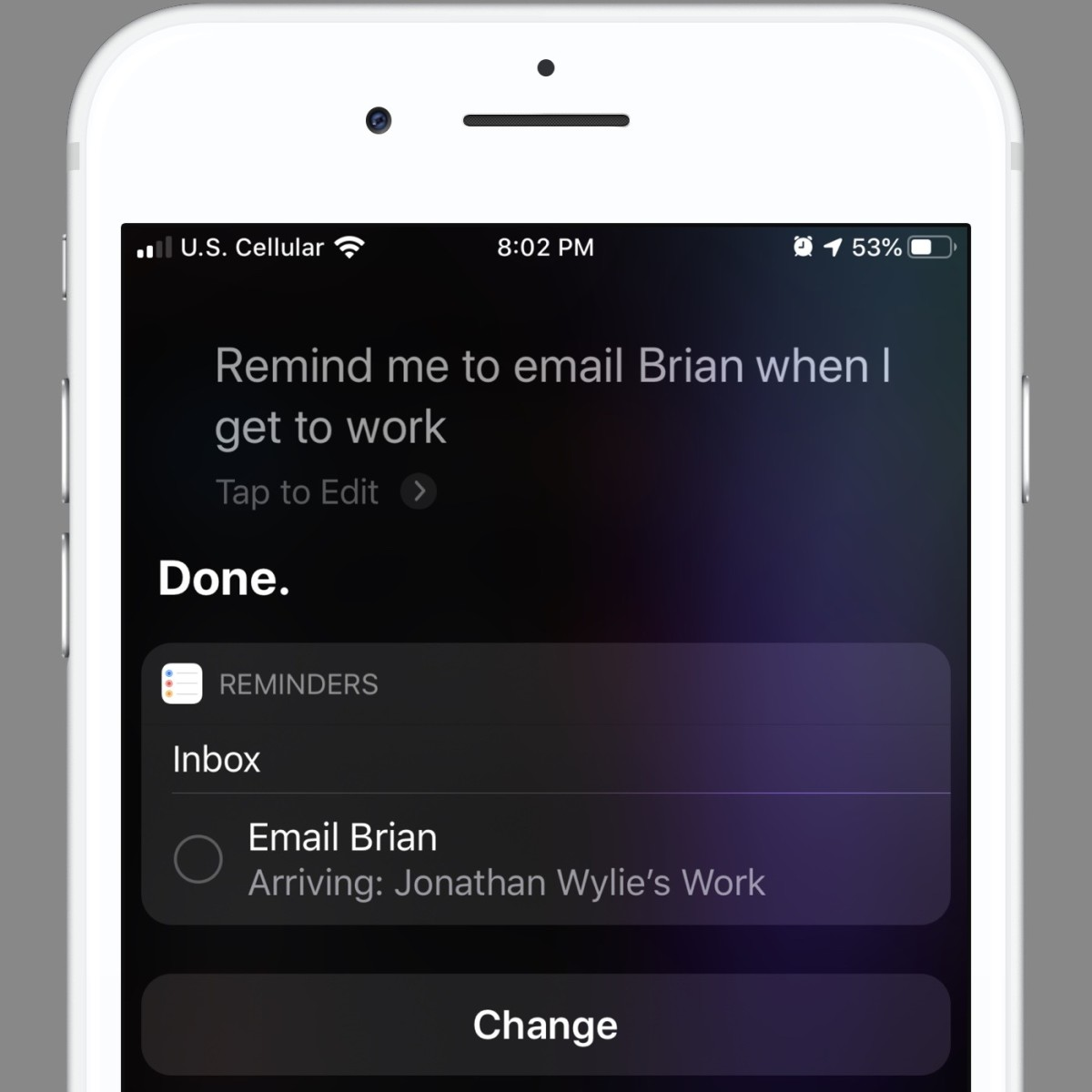 Siri is a great way to add tasks to Apple's Reminders app