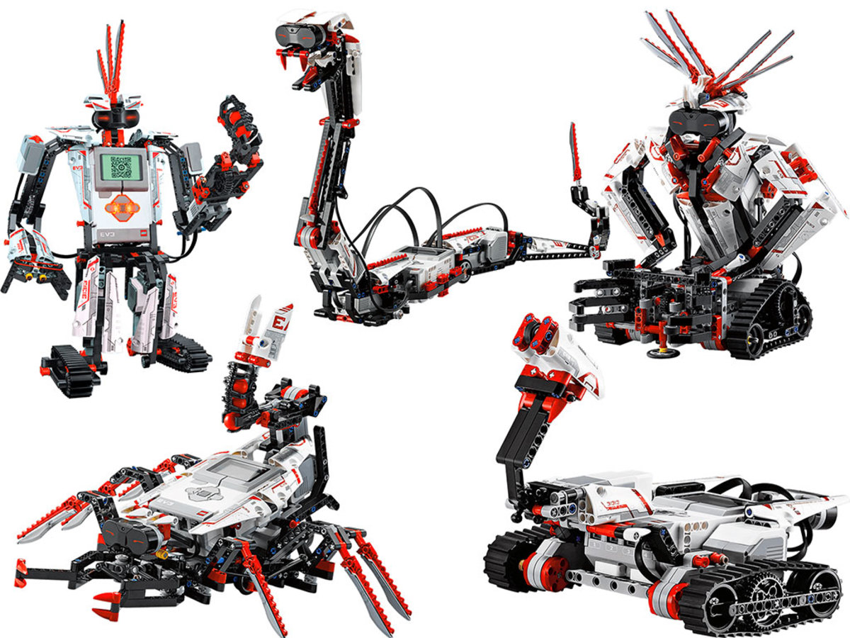 LEGO Mindstorms EV3 has many possible configurations