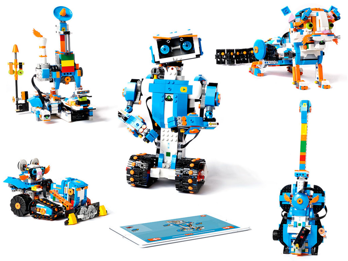 LEGO Boost is a flexible and fun robot kit