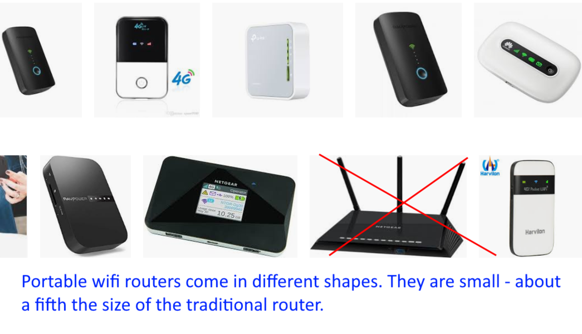 I've used two different wifi portable routers. Both were equally good. For me, it boiled down to which was the prettier! :)