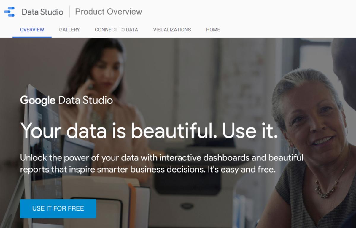 Google Data Studio - First Use