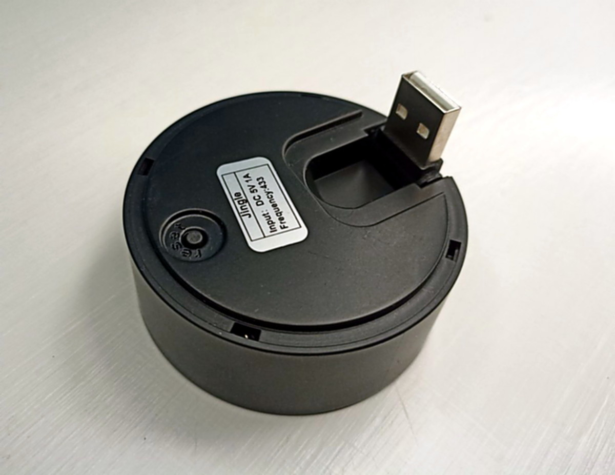 Chime is powered from USB source