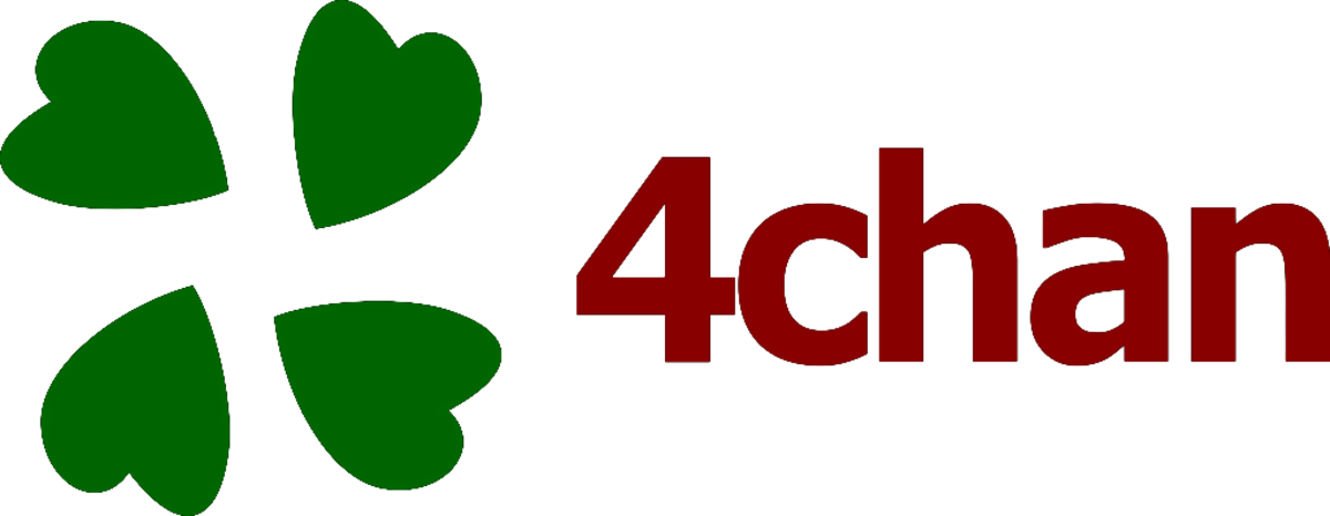 Logo of 4chan website, the birthplace of the SCP universe.