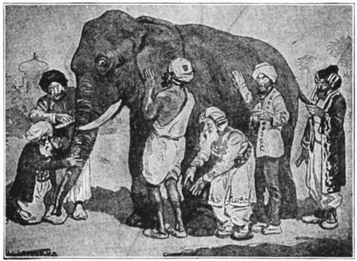 The Parable of the Blind Men and the Elephant