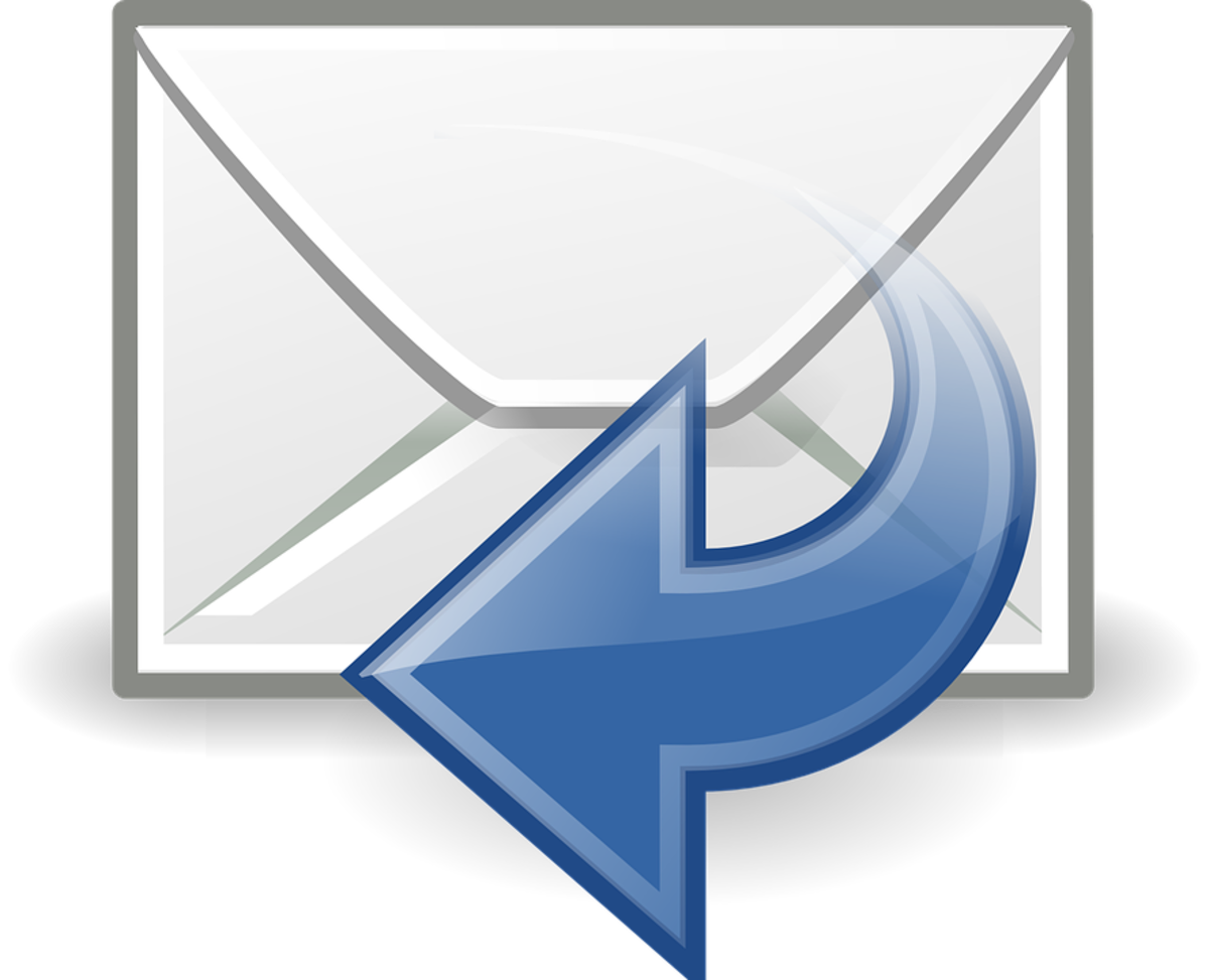 Replies to e-mails are just as important as sending a new e-mail.