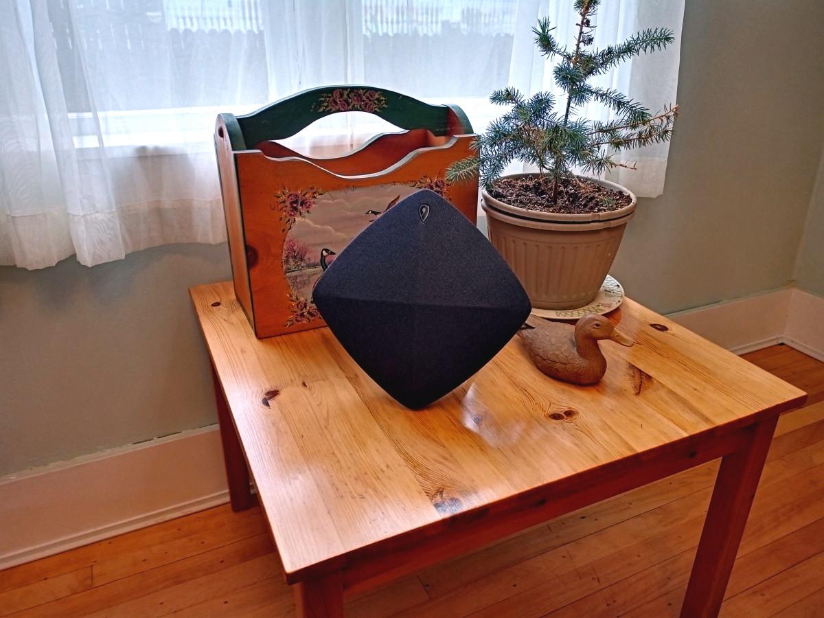 Stylish speaker goods good wherever it is positioned