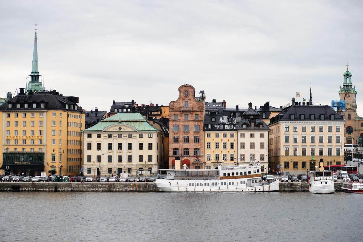 Sweden is near cashless.