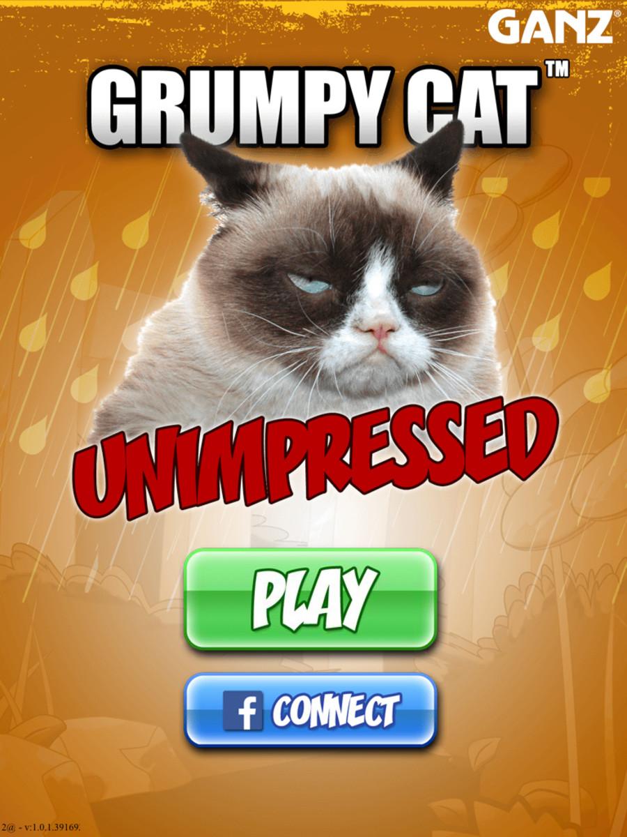 Grumpy Cat: Unimpressed video game