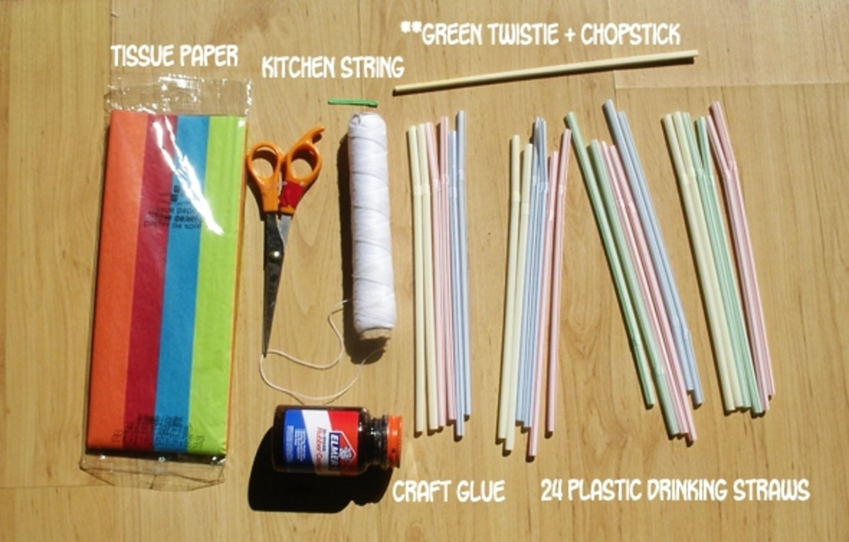 Materials For Making a Kite