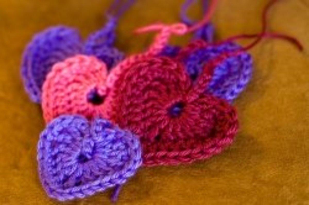 Beginner Instructions to Crochet a Heart