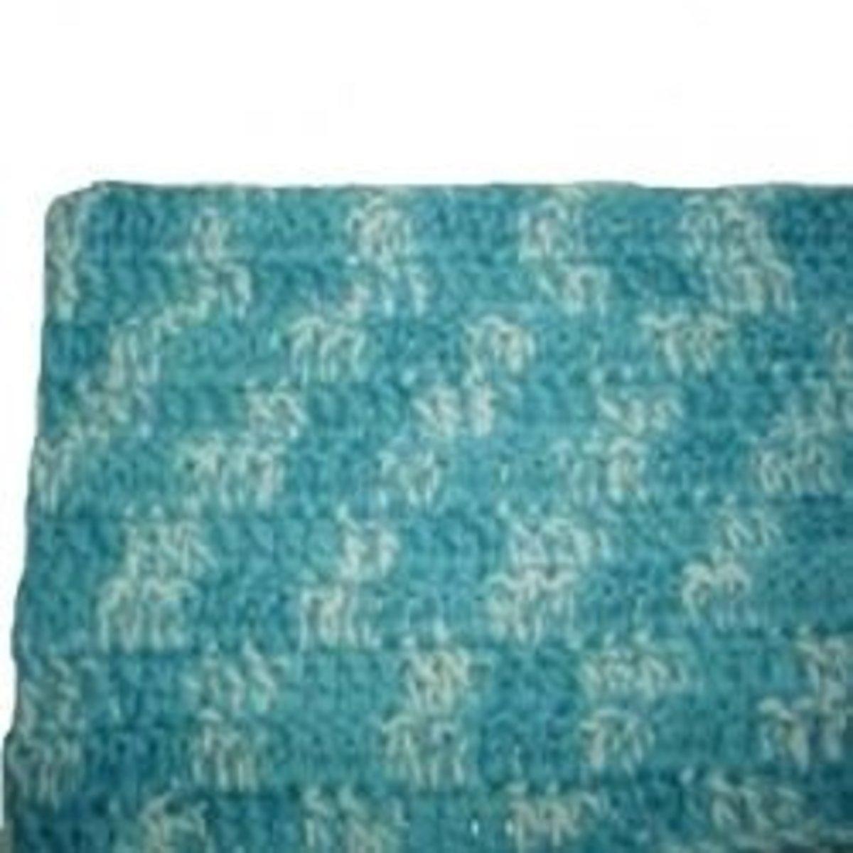 Rectangular rug for beginners